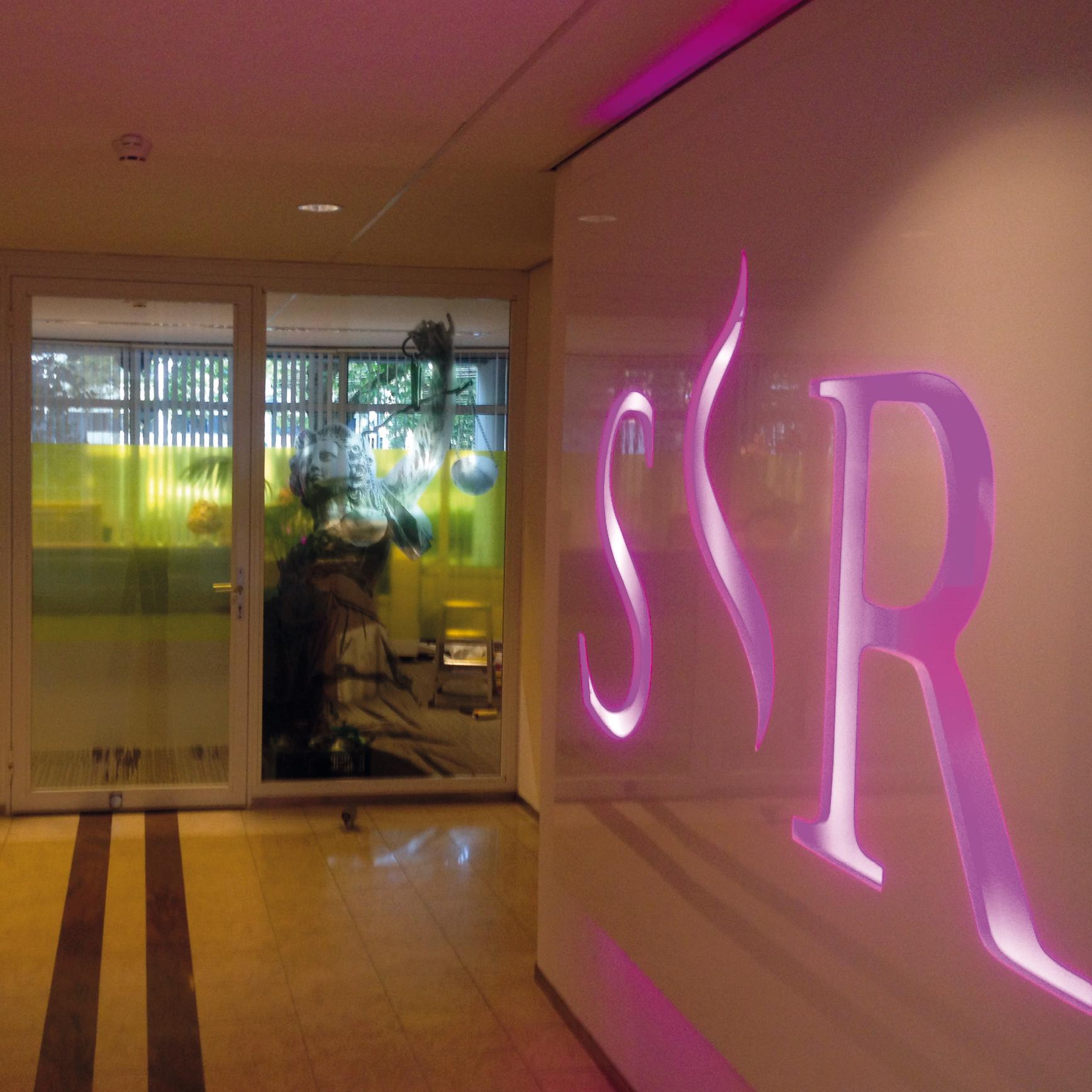Studiecentrum Rechtspleging Huisstijl Logo Interieur
